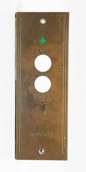 Marcato Up & Down Vintage Elevator Plate
