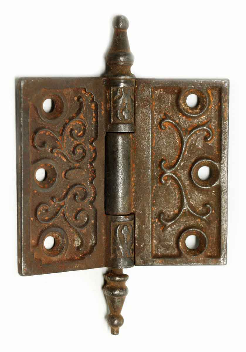 Small Cast Iron 3 X 35 Butt Antique Door Hinge
