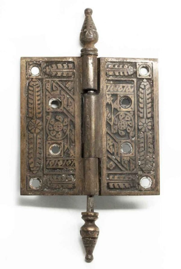 Decorative Bronze Ornate Hinge