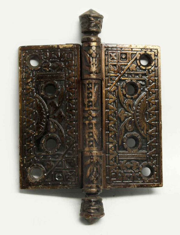 Ornate Bronze Decorative Hinge