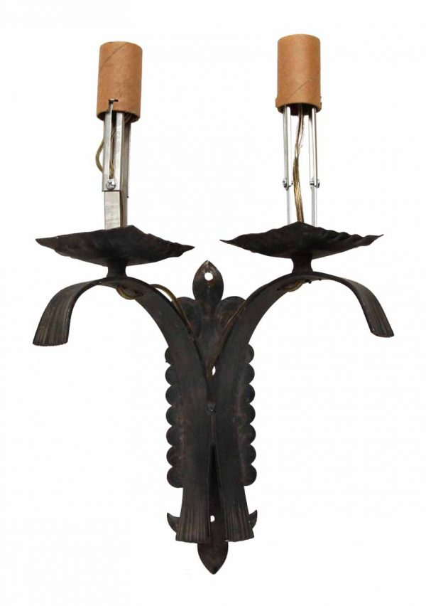 Single Arts & Crafts Iron Sconce