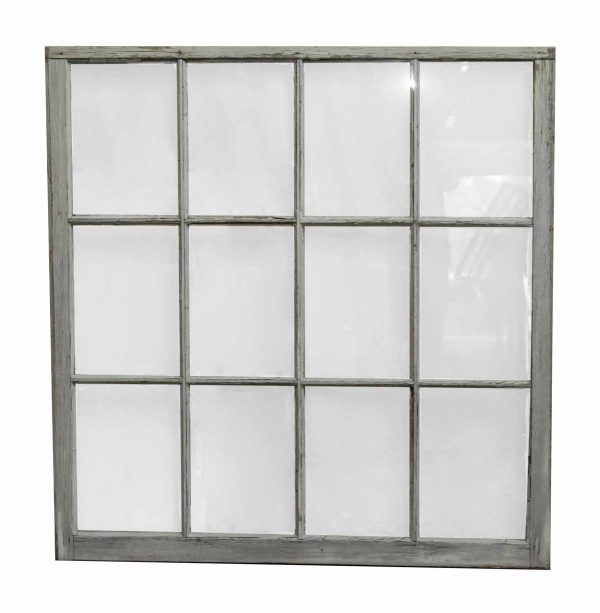 12 Panel Wood Frame Window