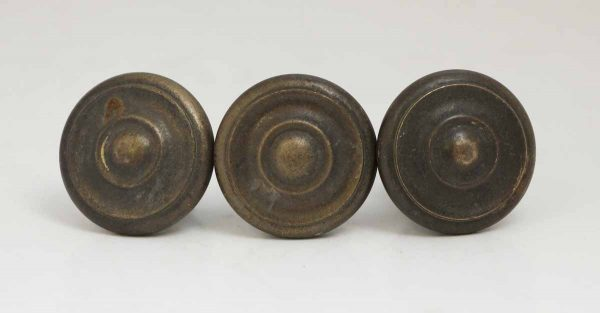 Set of Three Concentric Circular Knobs
