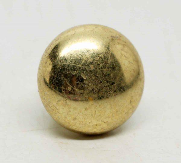 Small Round Brass Knobs