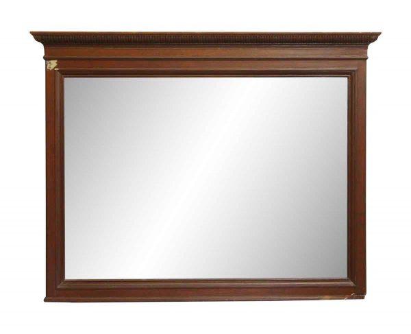 Traditional Mahogany Over Mantel Mirror