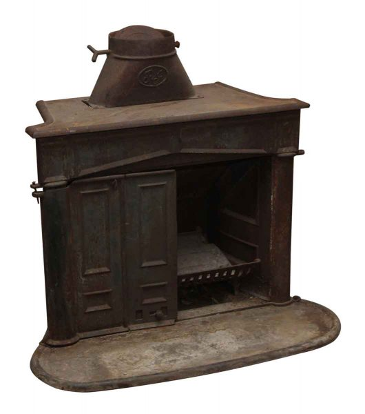 Vintage Firebox with Door