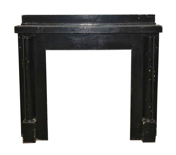 Craftsman Style Wooden Painted Mantel