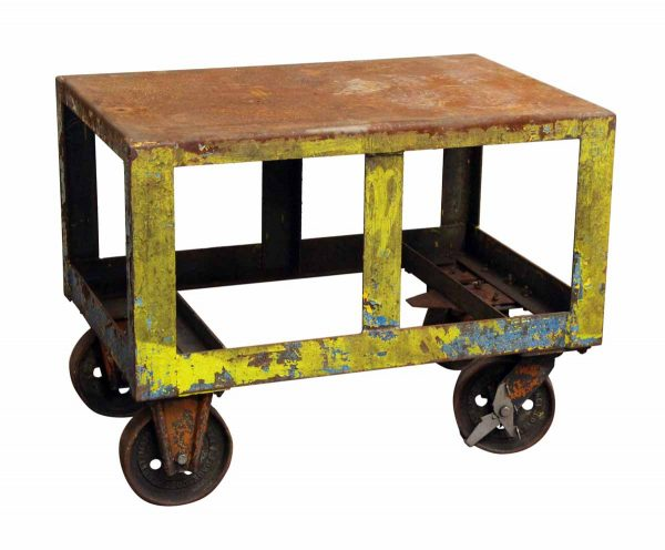 Metal Industrial Cart with Wheels