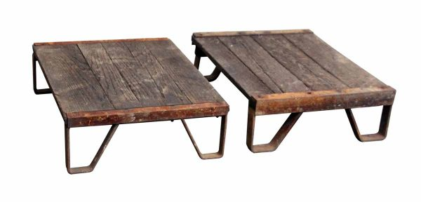 Industrial Wood Pallet Tables