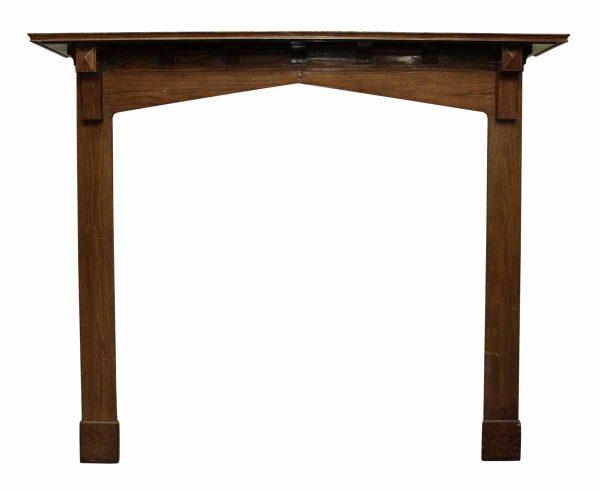 Reclaimed Tall Wooden Mantel