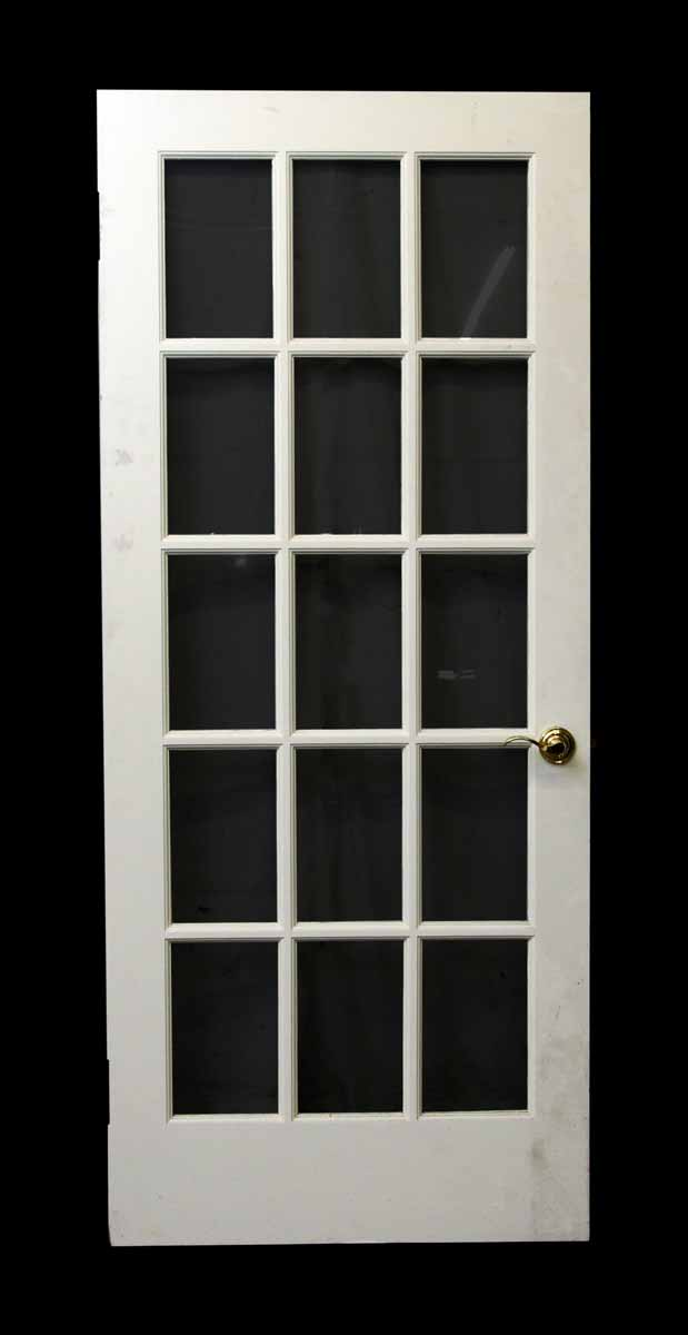 15 glass panel white door olde good things for 15 panel glass exterior door