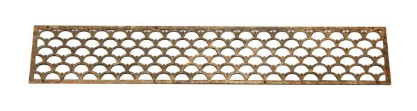 Decorative Long Iron Art Deco Grill