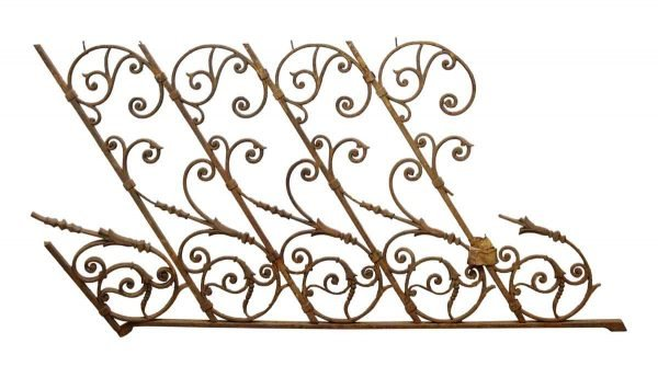 Fancy Forged Iron Railing Element