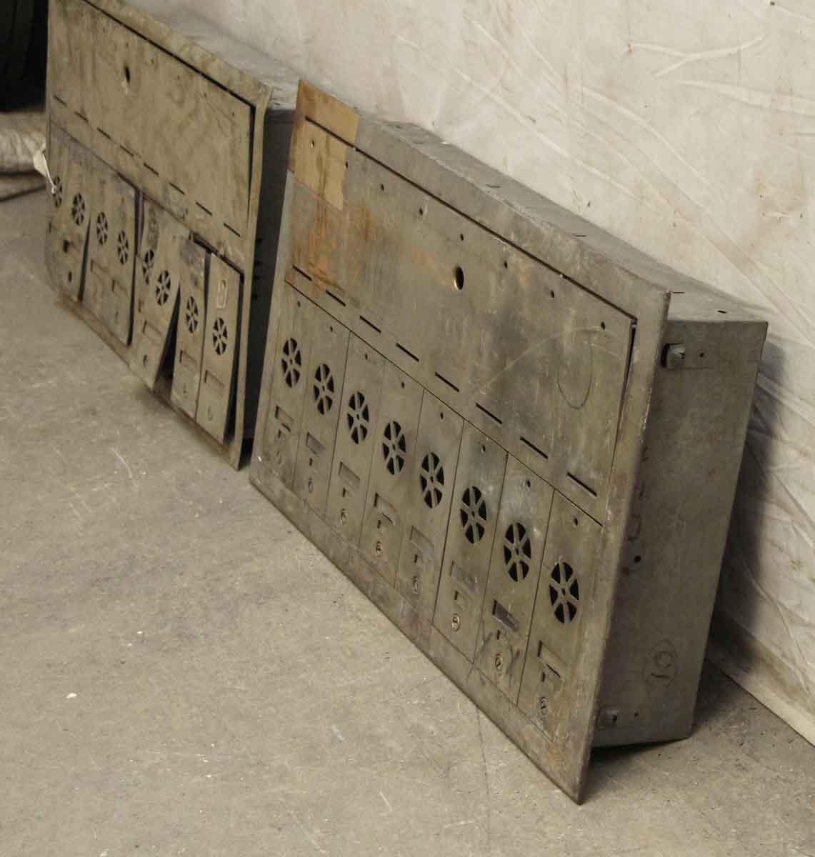 American Furniture Warehouse Mail: Brass Apartment Mailbox Unit