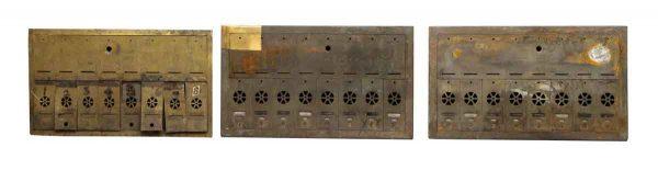Brass Apartment Mailbox Unit