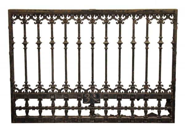 Scroll Detail Iron Panel or Window Guard
