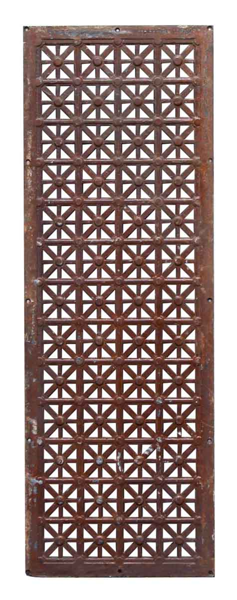 Art Deco Style Cast Iron Grill