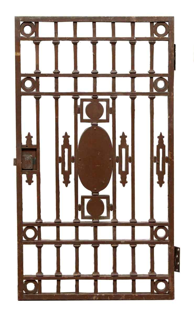 Wrought iron decorative tulip gate olde good things