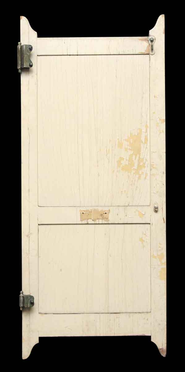 Wooden two panel bathroom stall door olde good things for Commercial bathroom partition doors