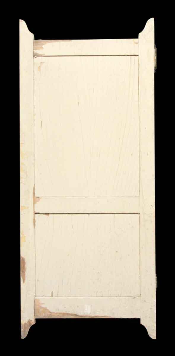 Wooden Two Panel Bathroom Stall Door