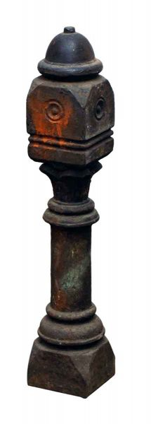 Short Iron Fence Post
