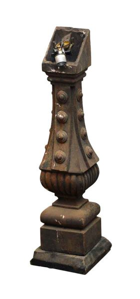 Altered Antique Balustrade Lamp