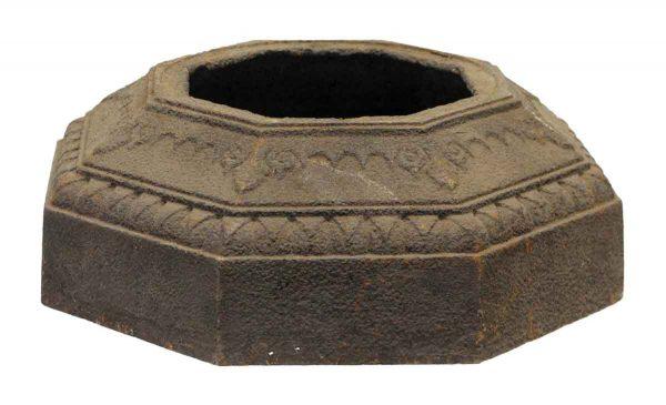 Decorative Cast Iron Octagon Shaped Base