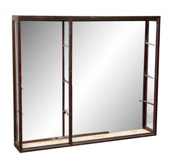Narrow Mirrored Back Showcase