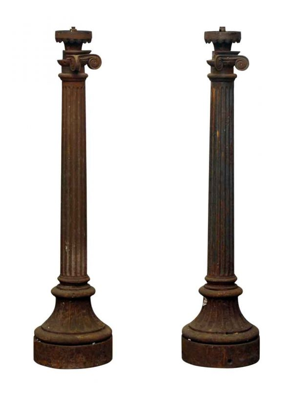 Cast Iron Column Light Posts