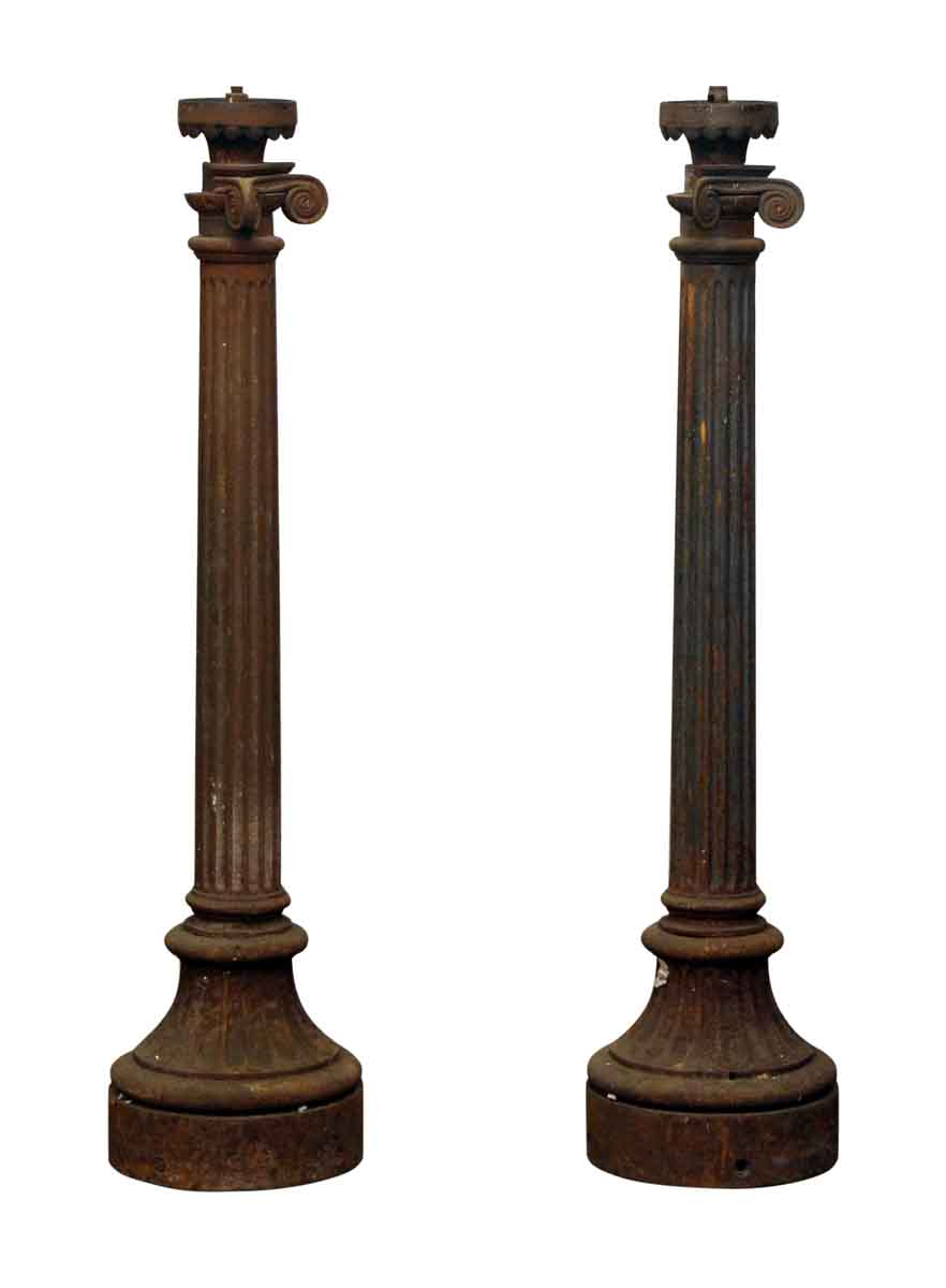 Cast Iron Columns : Cast iron column light posts olde good things