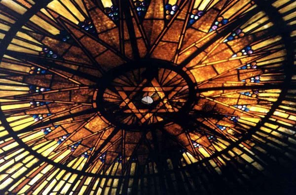 Stained Glass Synagogue Skylight