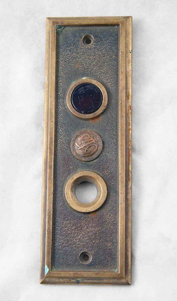 Cast Bronze Elevator Indicator Plate with Lens