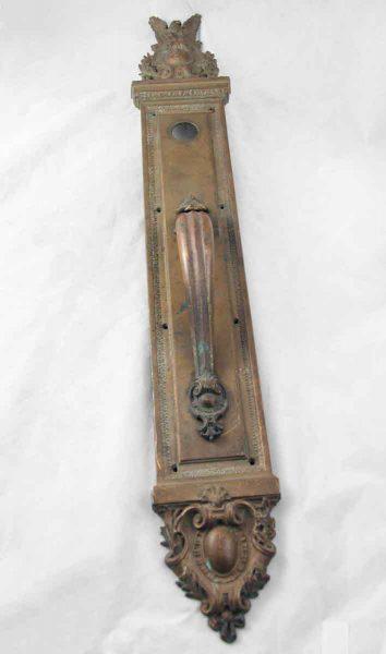 Ornate Bronze Door Pull