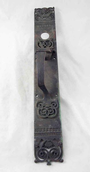 Ornate Bronze Door Pulls