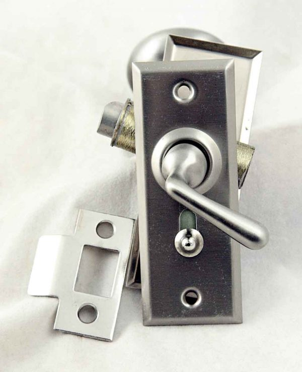 Satin Nickel Tubular Screen Door Latch