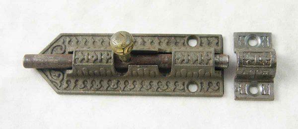 Ornate Victorian slide bolt