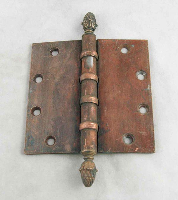 Acorn Finial Bronze Hinge