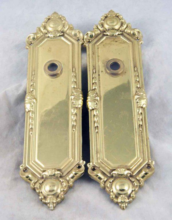 Baldwin cast brass backplates