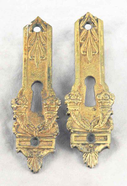 Ornate Brass Keyhole Covers