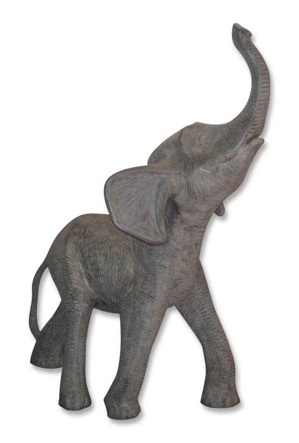 Fiberglass baby elephant