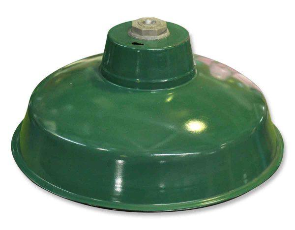 Green Enamel Industrial Metal Light