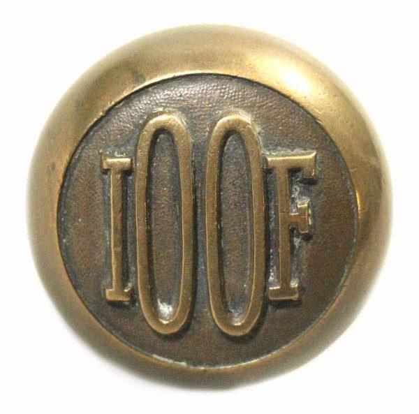 Bronze I00f Emblematic Knob