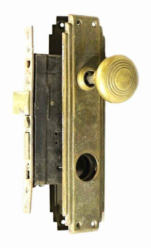 Brass Deco Entry Set