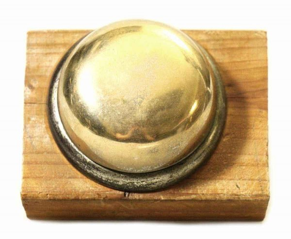 Antique Bell on a Wooden Block