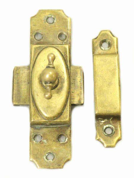 Brass Lock Latch