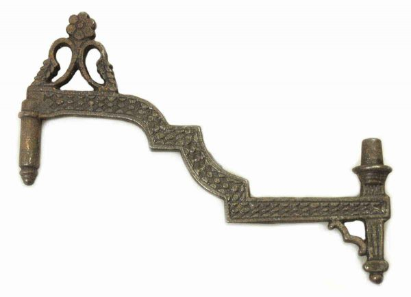 Ornate Floral Iron Hook