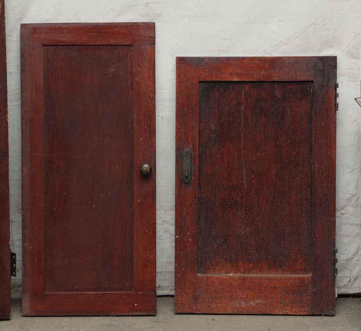 Wood Kitchen Doors: Narrow Birch Wood Cabinet Door