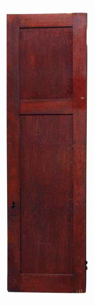 Narrow Birch Wood Cabinet Door