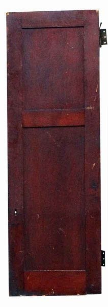 Two Panel Birch Wood Cabinet Door