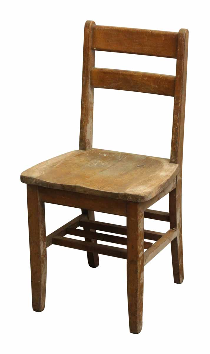Small Wooden School Chair | Olde Good Things